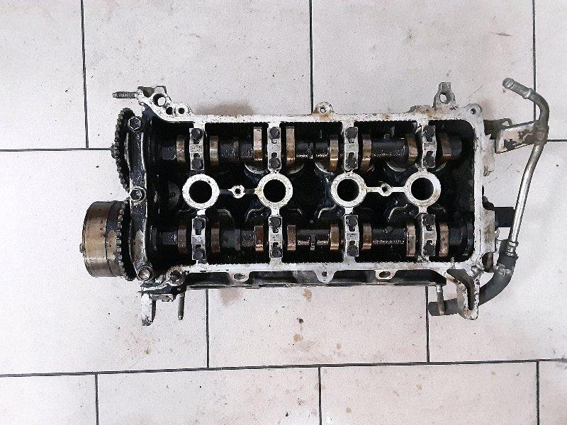 Головка блока цилиндров Toyota Funcargo NCP21 1NZFE 2000 передняя верхняя