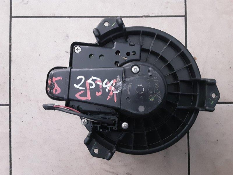 Мотор печки Toyota Vitz KSP90 1KRFE 2005 передний