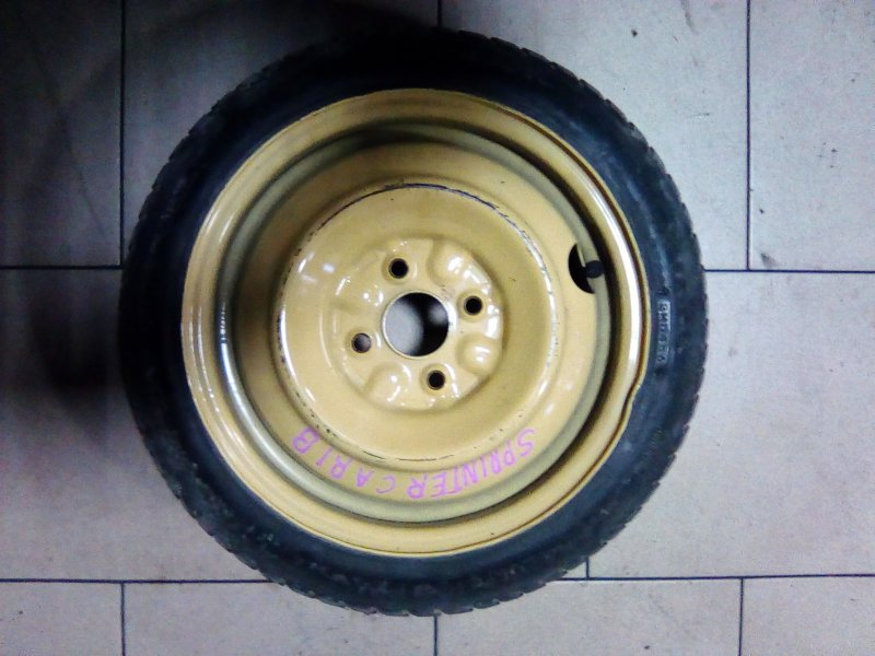 Запасное колесо Honda Fit GD1 L13A 2001 переднее