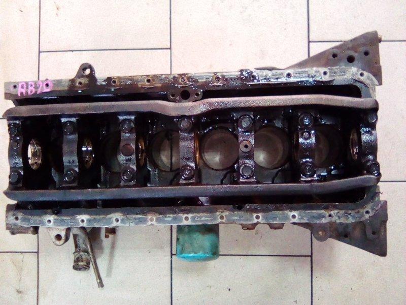 Блок цилиндров Nissan Laurel HC35 RB20DE 1998 передний