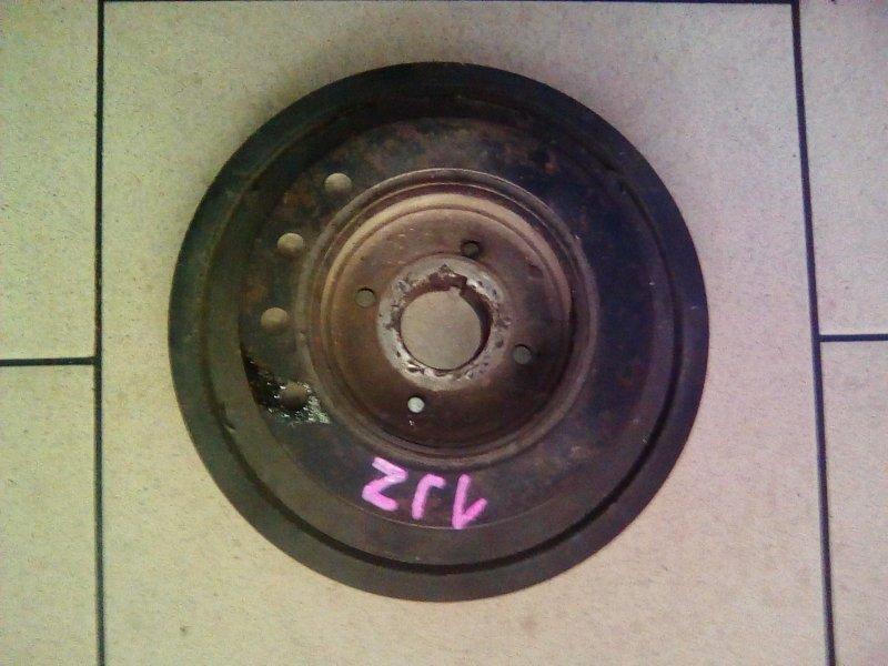 Шкив коленвала Toyota Mark Ii JZX90 1JZ 1992 передний