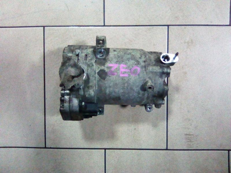 Компрессор кондиционера Nissan Leaf ZEO EM61 2011 передний