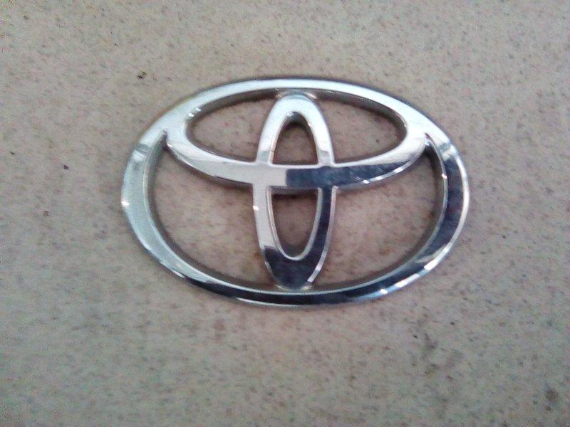 Эмблема Toyota Probox NCP50 2NZFE 2002