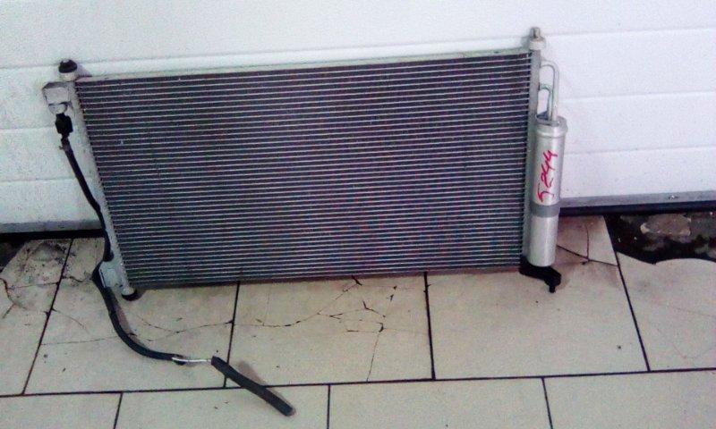 Радиатор кондиционера Nissan Tiida C11 HR15DE 2004 передний