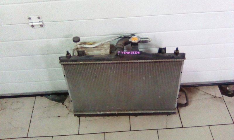 Радиатор охлаждения двигателя Nissan Tiida C11 HR15DE 2004 передний