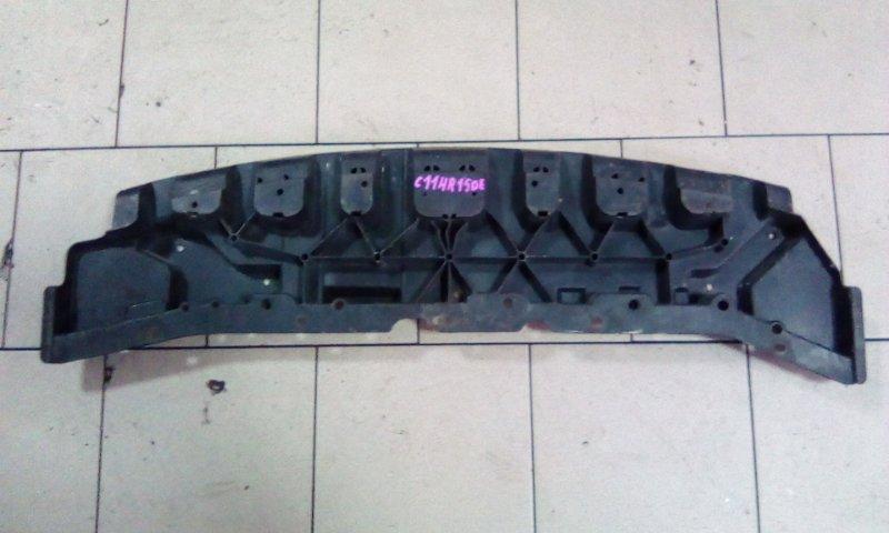 Пластик телевизора Nissan Tiida Latio C11 HR15DE 2005 передний нижний