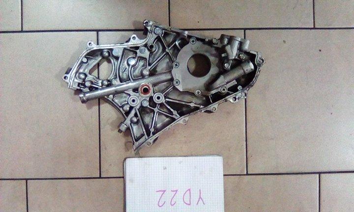 Лобовина двигателя Nissan Ad VENY11 YD22(DD) 2002 передняя