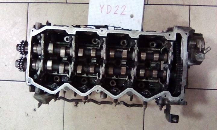 Головка блока цилиндров Nissan Ad VENY11 YD22(DD) 2002 передняя верхняя