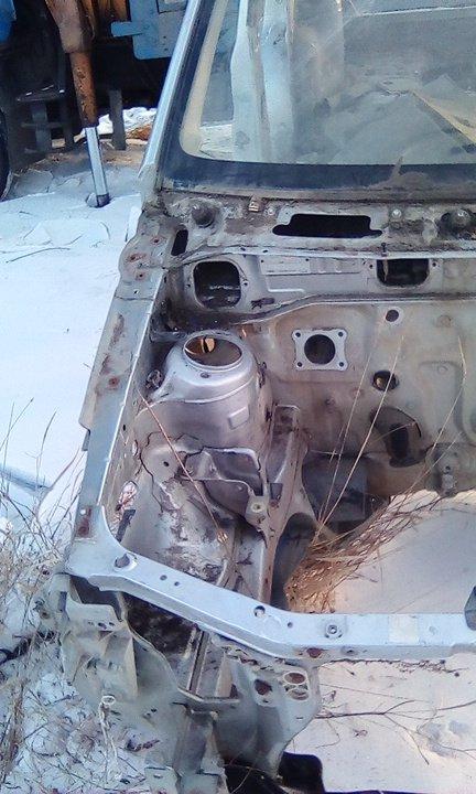 Лонжерон Mazda Demio DW3W B3 2000 передний правый