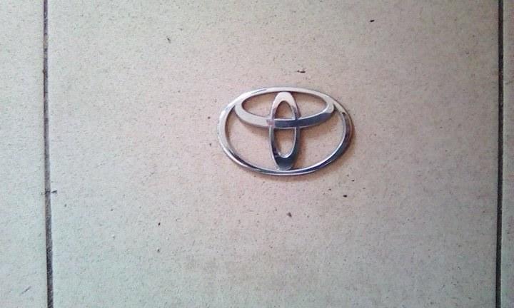 Эмблема Toyota Ipsum SXM10 3SFE 1996 задняя