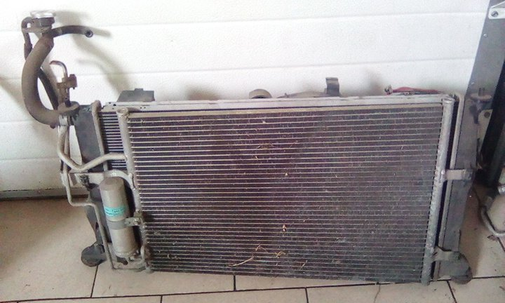 Радиатор кондиционера Mazda Premacy CREW L3 2005 передний