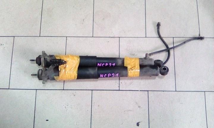 Амортизатор Toyota Funcargo NCP21 1NZFE 2000 задний левый