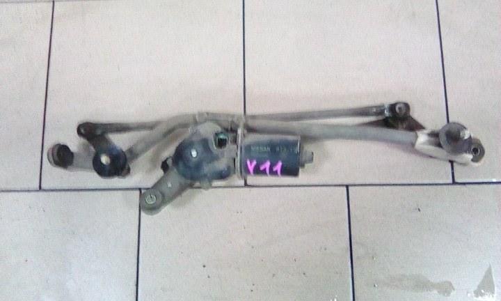 Механизм стеклоочистителя Nissan Ad VY11 QG15DE передний
