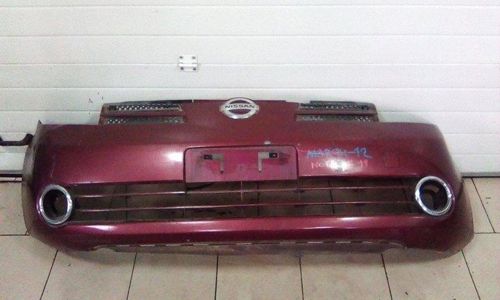 Бампер Nissan Note E11 HR15DE 2005 передний