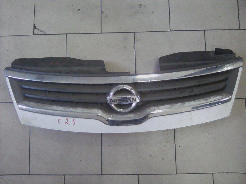 Решетка радиатора Nissan Serena C25 MR20DE 2008 передняя