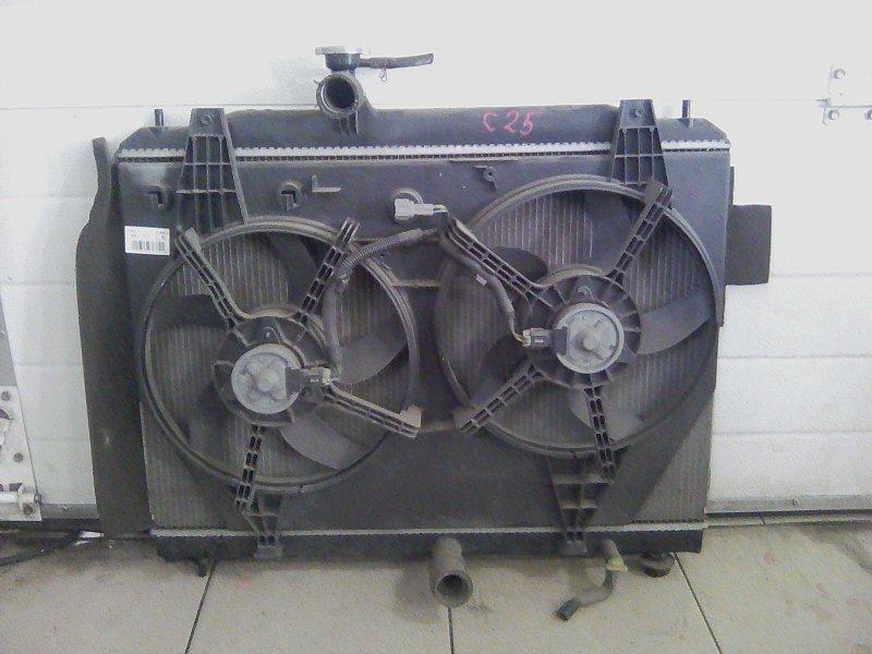 Радиатор охлаждения двигателя Nissan Serena C25 MR20DE 2008 передний