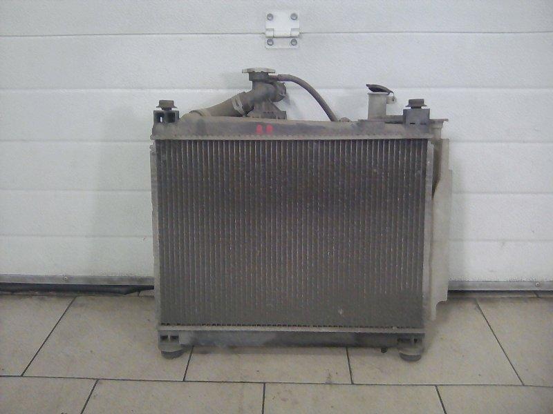 Радиатор охлаждения двигателя Toyota Bb NCP30 2NZFE 2000 передний