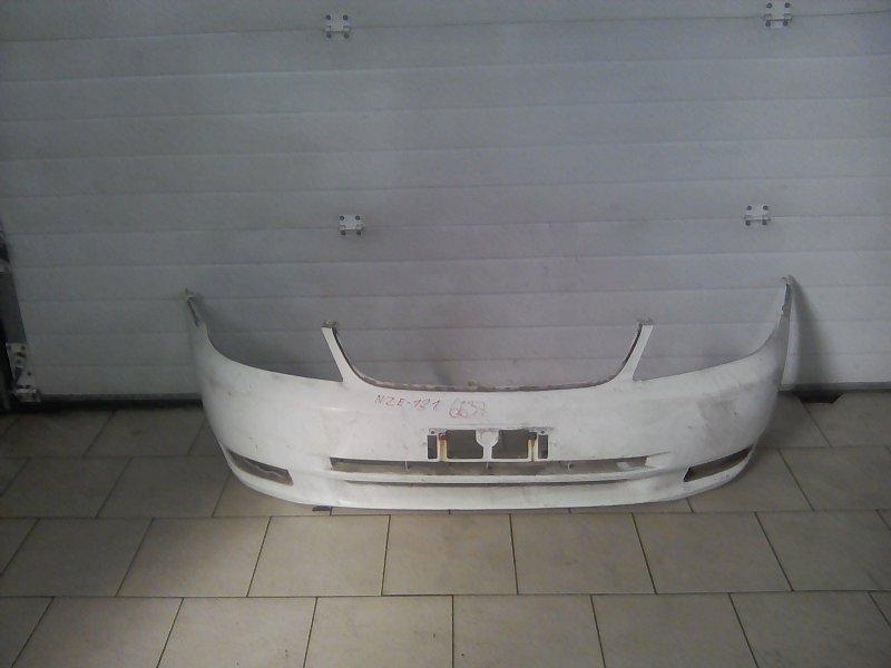 Бампер Toyota Corolla NZE121 1NZFE 2001 передний