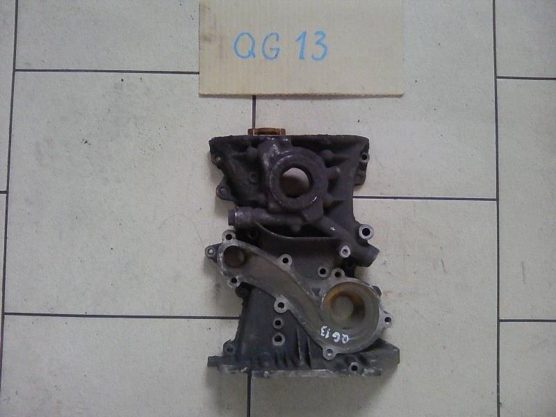 Лобовина двигателя Nissan Ad Y11 QG13DE 1996 передняя