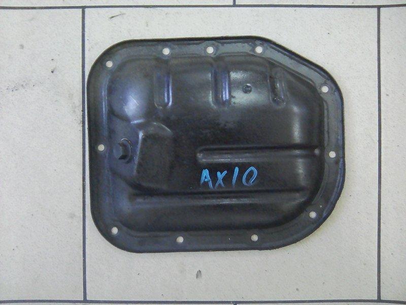 Поддон Toyota Corolla Axio NZE141 1NZFE 2007 передний нижний