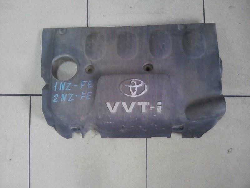Крышка двигателя Toyota Funcargo NCP21 1NZFE 2000 передняя верхняя
