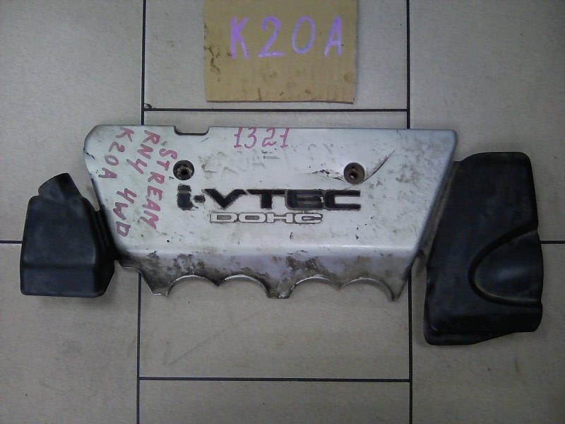 Крышка двигателя Honda Stream RN3 K20A 2002 передняя верхняя