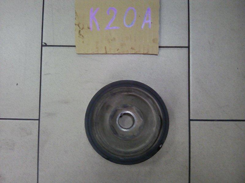 Шкив коленвала Honda Stream RN3 K20A 2002 передний нижний