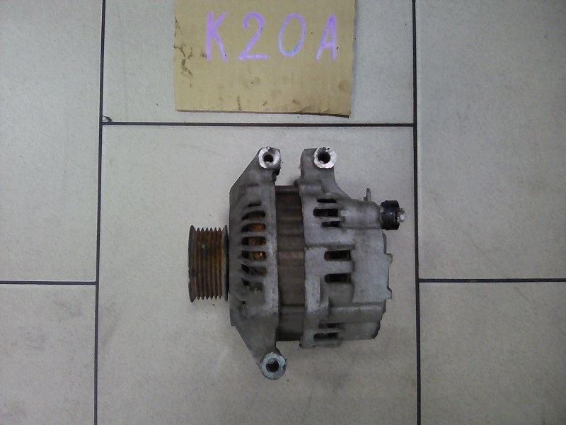 Генератор Honda Stream RN3 K20A 2002 передний