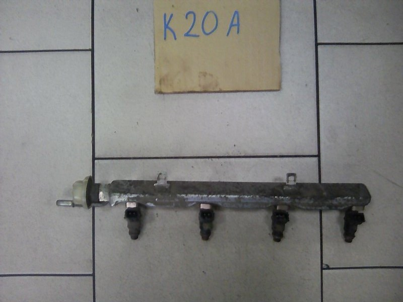 Топливная рейка Honda Stream RN3 K20A 2002 передняя