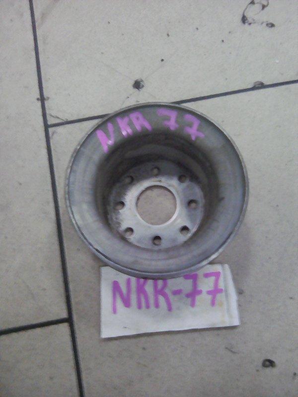 Шкив помпы Isuzu Elf NKR77 4KH1-TC 2010 передний