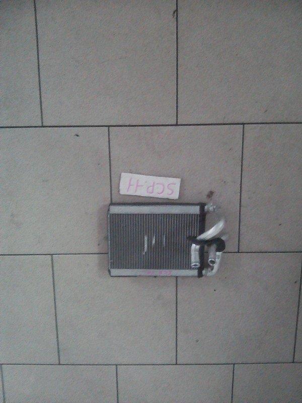 Радиатор отопителя Toyota Platz SCP11 1SZFE 2000 передний