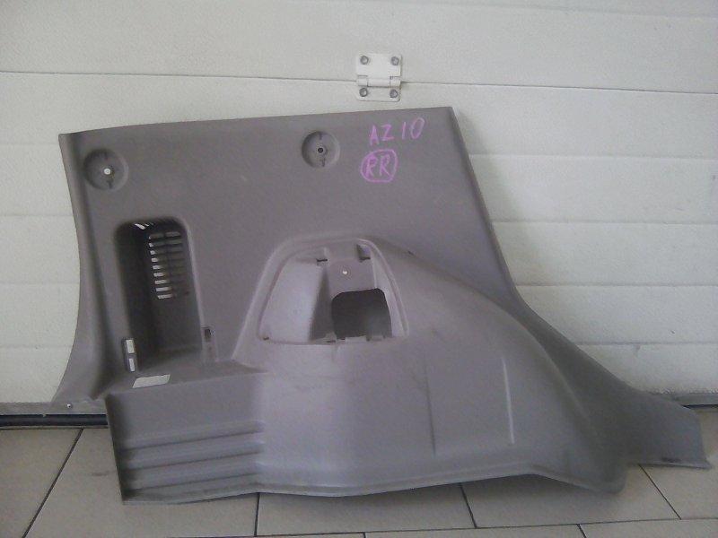Обшивка багажника Nissan Cube AZ10 CGA3 2001 задняя левая