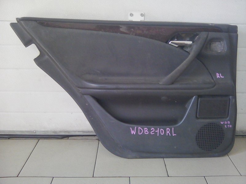 Обшивка двери Mercedes-Benz E-Class E280 W210 M112 1999 задняя левая