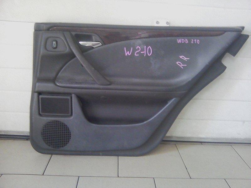 Обшивка двери Mercedes-Benz E-Class E280 W210 M112 1999 задняя правая