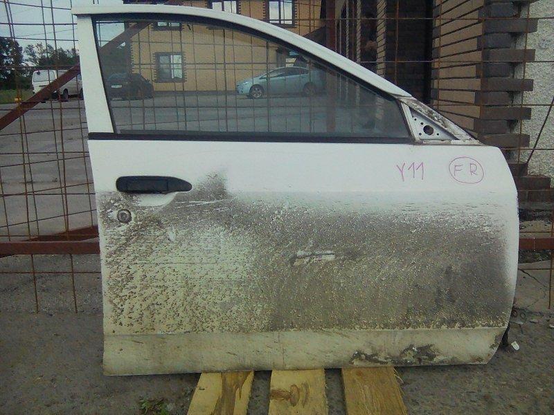 Дверь Nissan Ad VY11 QG15DE передняя правая