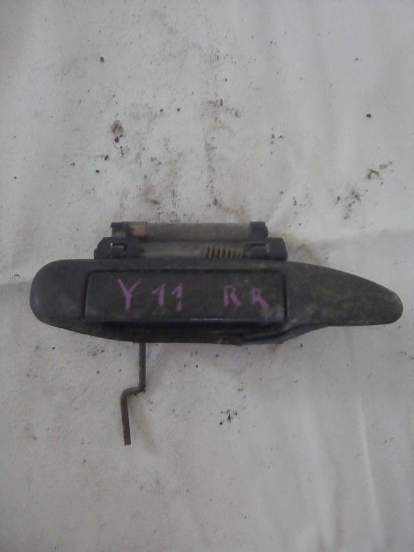 Ручка двери внешняя Nissan Ad VY11 QG15DE задняя правая