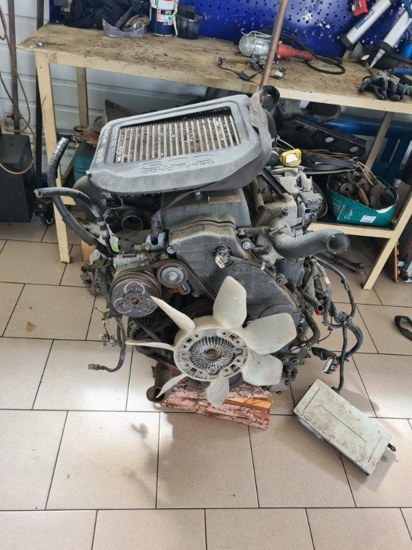 Двигатель Isuzu Bighorn UBS73 4JX1 1998 передний