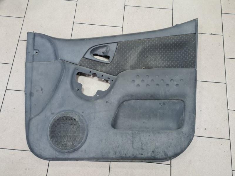 Обшивка двери Toyota Funcargo NCP21 1NZFE 2000 передняя правая