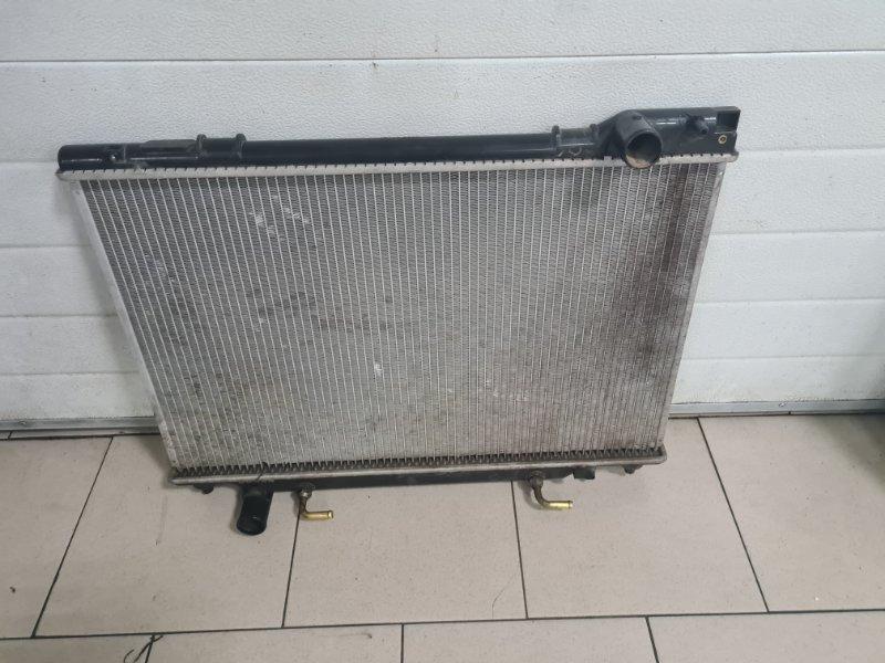 Радиатор охлаждения двигателя Toyota Estima Emina CXR20 3C 1992 передний