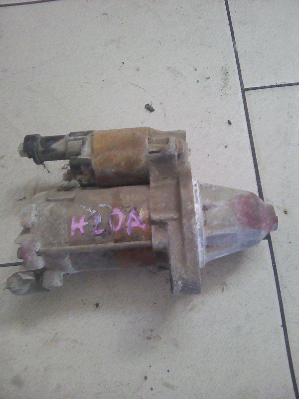 Стартер Honda Stream RN4 K20A 2000 передний
