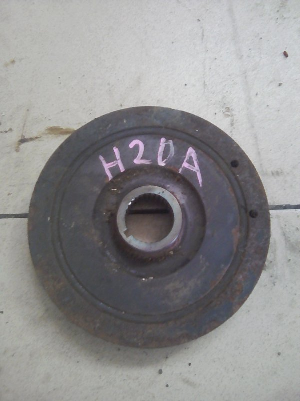Шкив коленвала Honda Stream RN4 K20A 2000 передний