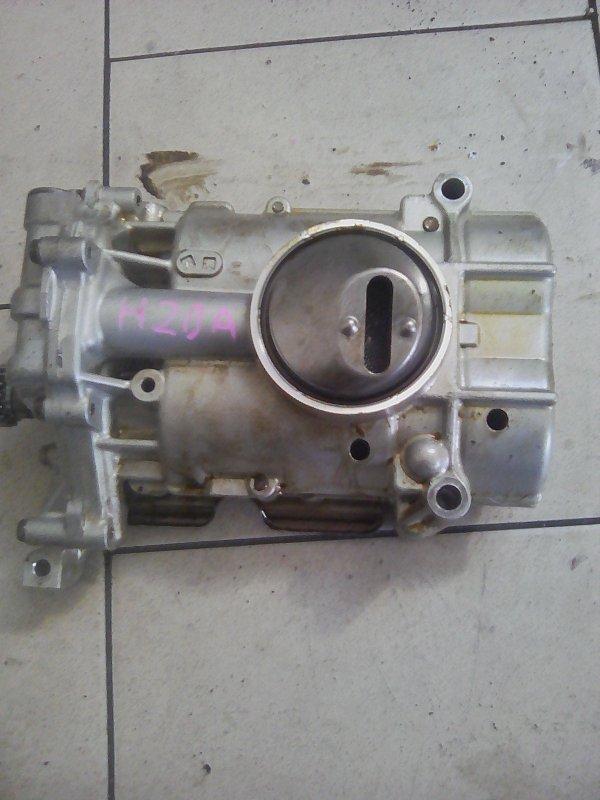 Масляный насос Honda Stream RN4 K20A 2000 передний нижний