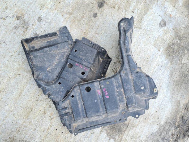 Защита двигателя Toyota Wish ZNE10 1ZZFE 2003 передняя нижняя