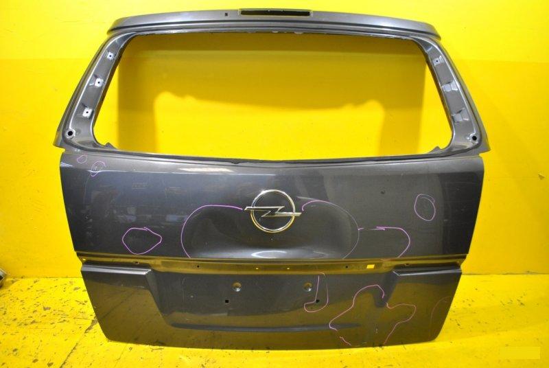Крышка багажника Opel Zafira B 2005 задняя