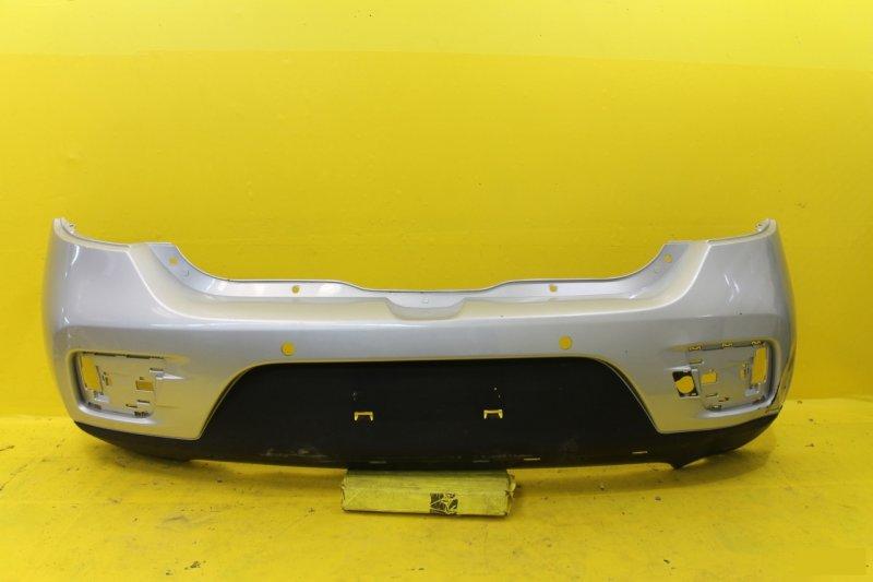 Бампер Renault Sandero Stepway 2 2013 задний