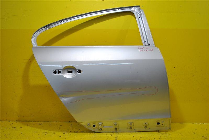 Дверь Renault Fluence 2009 задняя правая