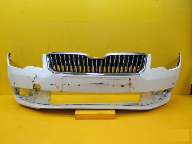 Бампер Skoda Superb 2 2013 передний