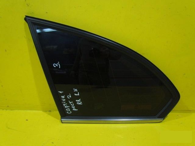 Стекло Chevrolet Captiva C140 2011 заднее левое