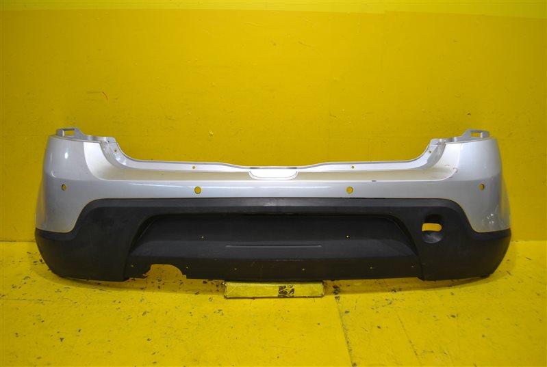 Бампер Renault Sandero Stepway 1 2009 задний