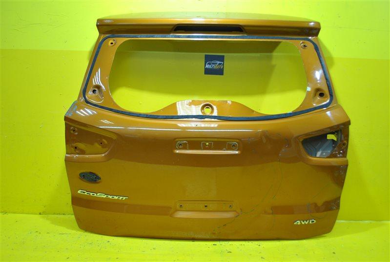 Крышка багажника Ford Ecosport 1 2014 задняя
